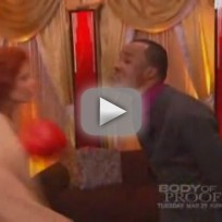 DWTS Week One - Sugar Ray Leonard & Anna Trebunskaya