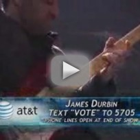 James Durbin - While My Guitar Gently Weeps (American Idol)