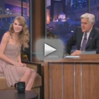 Taylor Swift on The Tonight Show - Part 1