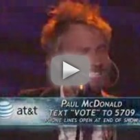 Paul McDonald - Folsom Prison Blues (American Idol)