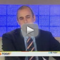 Kate Couric and Matt Lauer on Today