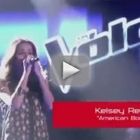 Kelsey Rey - American Boy (The Voice)