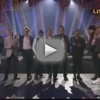 New Kids on the Block and Backstreet Boys on DWTS - I Want It That Way