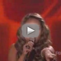 Haley Reinhart and Casey Abrams - I Feel The Earth Move (American Idol)