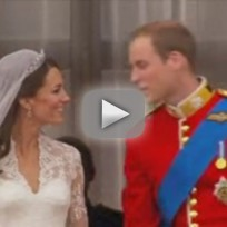 Royal Wedding Kiss and Highlights