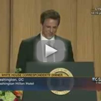 Seth meyers at white house correspondents dinner