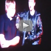 Justin Bieber Brings Casey Heynes on Stage