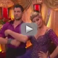 Kirstie Alley & Maksim Chmerkovskiy on DWTS - Week 7