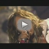 Steven tyler dream on american idol