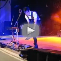 Brendon Urie Breaks Ankle, Continues Show