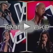 The Voice Battle Round - Xenia vs. Sara Oromchi