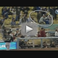 Dad Drops Daughter, Foul Ball