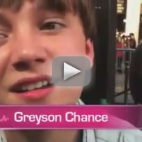 Greyson chance speaks to thg