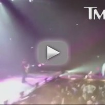 Miley Cyrus Concert Incident