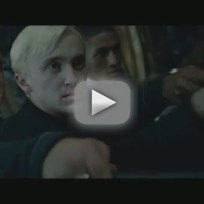 Harry potter and the deathly hallows clip harry vs draco