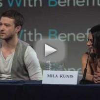 Justin Timberlake Press Conference