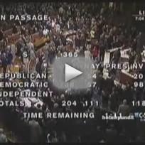 Gabrielle Giffords Casts Debt Ceiling Vote