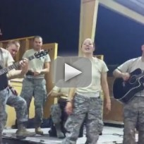 Miltary Personnel Cover Adele