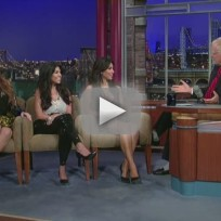 The Kardashians on The Late Show
