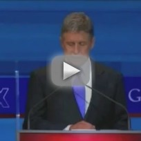 Gary Johnson at GOP Debate