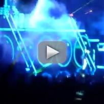 Chris Brown Falls in Concert