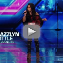 Jazzlyn Little X Factor Audition