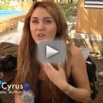 Miley Cyrus Helps in Haiti