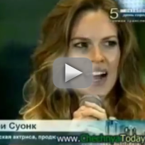 Hilary-swank-greets-president-of-chechnya