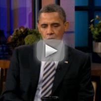 Barack Obama on The Tonight Show, Part I