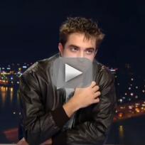 Robert Pattinson Interview with TF1