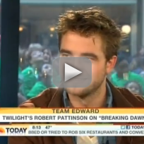 Robert Pattinson Today Show Interview