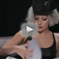 Lady Gaga Reads Book Foreword