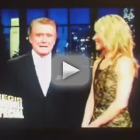 Regis philbin farewell speech
