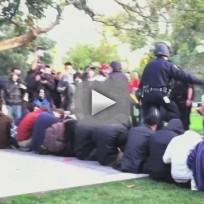 Police Pepper Spray UC-Davis Students