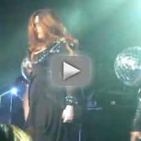 Demi Lovato Hair Extension Slip