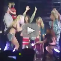 Britney Spears' Family on Stage