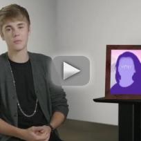 Justin Bieber Fragrance Ad: Hey, Dad...