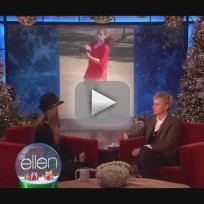 Paris Jackson on Ellen
