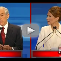 GOP Debate: Paul vs. Bachmann
