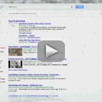 Let it Snow on Google