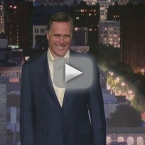 Mitt Romney on Letterman: Top 10 List