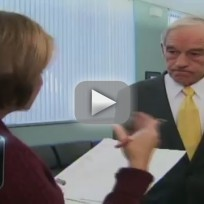 Ron Paul Walks Off CNN interview