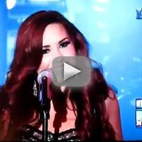 Demi Lovato - Give Your Heart A Break (Live on New Year's Eve)