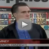 Mitt Romney Spars With Reporter