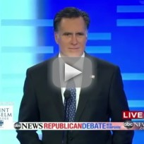 New Hampshire Debate - Mitt Romney Baffled By Contraception Question
