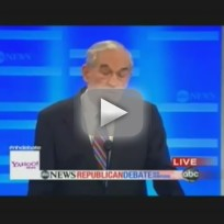 GOP Debate - Ron Paul vs. Newt Gingrich