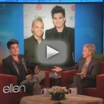 Adam Lambert Ellen Interview: About That Fight...