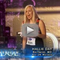 Hallie Day American Idol Audition