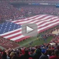 Kristin chenoweth sings national anthem