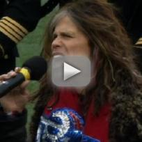 Steven tyler national anthem performance yay or nay